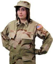Military Halloween Costumes Women Basic Military Costume Dcu 3 Color Desert Camouflage