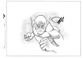 flash sketch commission by exablitz on deviantart