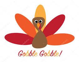 gobble gobble turkey stock vector keeweegirl 90927310