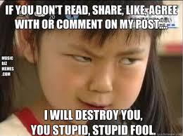 Angry Girl Meme - music memes meme music consulting angry girl music marketing