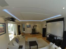 Wohnzimmer Mit Indirekter Beleuchtung Wieder Fotos Von Einer Schönen Heimkinolösung Im Wohnzimmer Blog