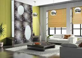 This Feature Tiled Living Room Wall Features Blossoming Plum Art - Living room wall tiles design
