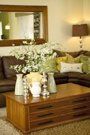 Lime Green And Brown Decor Ideas For The Living Room - Contemporary green living room design ideas