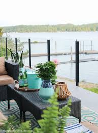 our new cozy outdoor living room tour deck reveal part one
