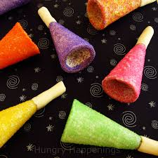 sugar cone party horns toot your own edible horn this new year u0027s