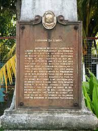 file battle of sambat historical marker jpg wikimedia commons