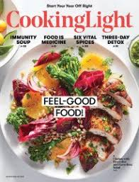 cooking light subscription status cooking light magazine subscription cooking light