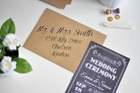 Wedding Invitation Printing How To Print Your Own Wedding Invitation Envelopes Best Wedding