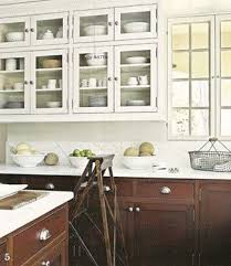 white cabinets brown lower cabinets in kitchen want a bigger brighter kitchen get the two toned look