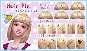 cc hair for sism4 hair pin sims 4 updates best ts4 cc downloads