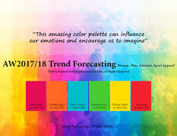 aw2017 2018 trend forecasting on behance