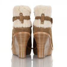 s wedge boots ugg s anais wedge boots chestnut mount mercy