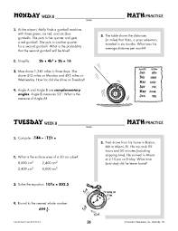 daily math practice grade 8 use it don u0027t lose it ip6133