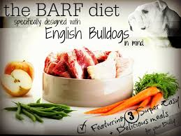 barf diet for bulldogs