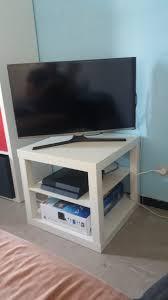 Meuble Tv Ikea Wenge by Hack D U0027un Banc Tv Ikea Lack Bidouilles Ikea