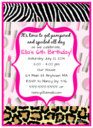 free rainbow birthday invitations spa sleepover birthday party invitations crafty designs
