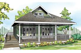 narrow lot house plans for cottage plan lyndon 30 769 front