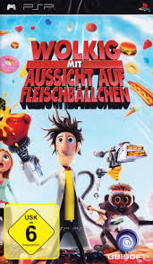 cloudy chance meatballs 2009 psp box cover art mobygames