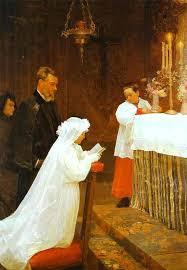 pablo picasso first communion 1896