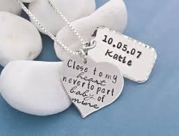 personalized mothers necklace baby of mine personalized mothers necklace girl jewelry