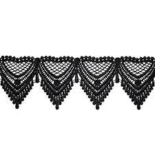 black lace ribbon black venise lace ribbon trim for bridal apparel