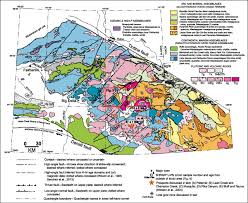 Alaska Range Map by Mesozoic Magmatism And Timing Of Epigenetic Pb Zn Ag