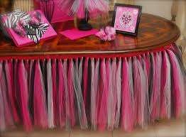 tulle decorations baby shower table decorations with tulle baby shower diy