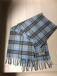 light blue burberry scarf burberry scarf 100 cashmere beautiful light blue large