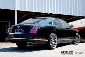 bentley mulsanne custom bentley mulsanne with 22in lexani lf722 wheels exclusively from