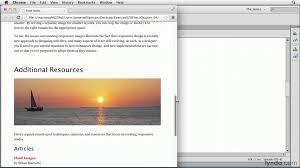 responsive design tutorial responsive design tutorial creating fluid images lynda