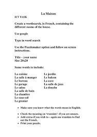 jeux de y8 cuisine revision worksheets y7 and y8 by ofi1983 teaching resources tes