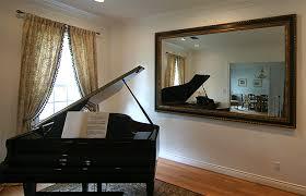 livingroom mirrors framed living room mirror