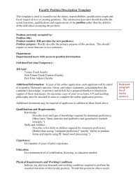 cover letter tenure track exhibit 2 faculty resume samples