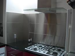 Stainless Steel Kitchen Backsplash Panels Aralsacom - Stainless steel backsplash reviews