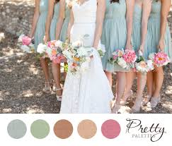 color palette for wedding wedding color palettes muted blue green pink i m