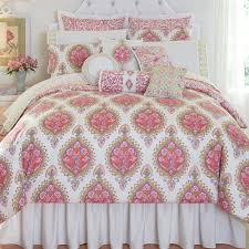 floral capri medallion comforter bedding by dena home