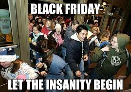Black Friday Meme - internet jokers see the funny side of black friday daily mail online