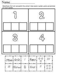 pre kindergarten math numbers 1 5 number of the week zoo theme