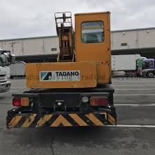 tadano ts 75m hino engine original 5ton japan used truck crane