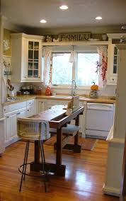Kitchen Island Ideas With Seating Narrow Kitchen Island 25 Creative Hidden Storage Ideas For