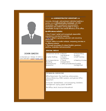 assistant resume templates 20 free administrative assistant resume sles template lab
