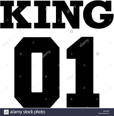 king 01 college couple t shirt design stock photo royalty free