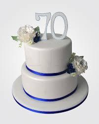 70th birthday cakes 70th birthday cake cm5352 panari cakes