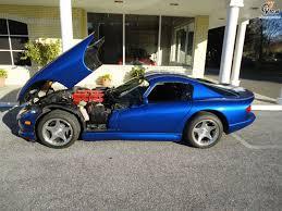 Dodge Viper 1996 - dodge viper gts blue 1996 02