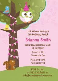 5th birthday party invitation owl birthday party invitations u2013 gangcraft net