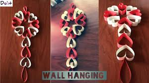 diy wall decoration ideas with colour paper