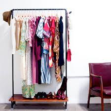 diy pipe clothing rack with shelf craftgawker
