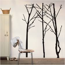 home furniture tree wall painting teen room decor bedroom