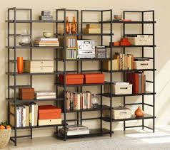 tag furniture 23500 03 362 connections bookcase with java oak shelves