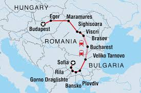 Blank Eastern Europe Map by Hungary Tours U0026 Travel Intrepid Travel Us